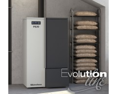 Caldaia a pellet PR20 - evolution line NEW 2019