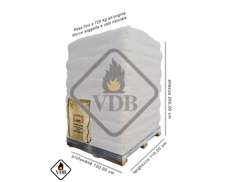 Carbone Cubano Bancale (72 sacchi da 10 kg. cad.)