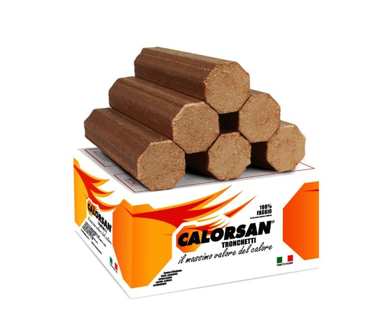Calorsan - Tronchetti di puro faggio